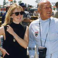 Chloe Mason and Stirling Moss