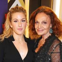 Ellie Goulding and Diane von Furstenberg