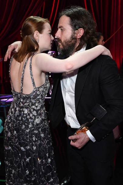 Emma Stone and Casey Affleck