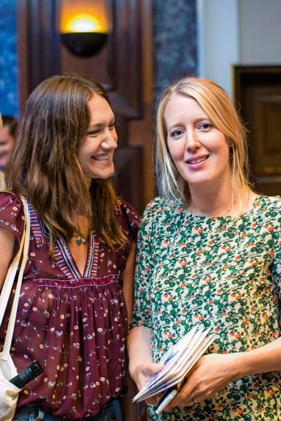 Mary-Clare Elliot and Alice Goldsmith
