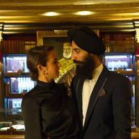Delfina Delettrez Fendi and Waris Ahluwalia