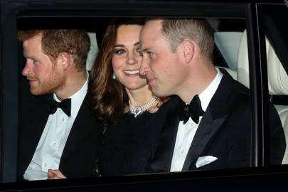 Prince Harry, the Duchess of Cambridge and the Duke of Cambridge