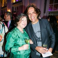 Fay Maschler and Giorgio Locatelli
