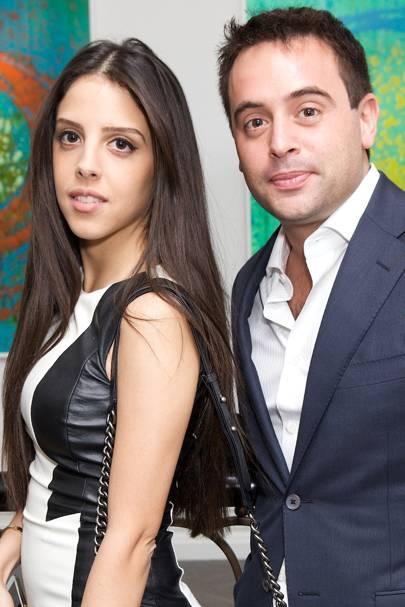 Mia Senhaji and Ian Hudaly