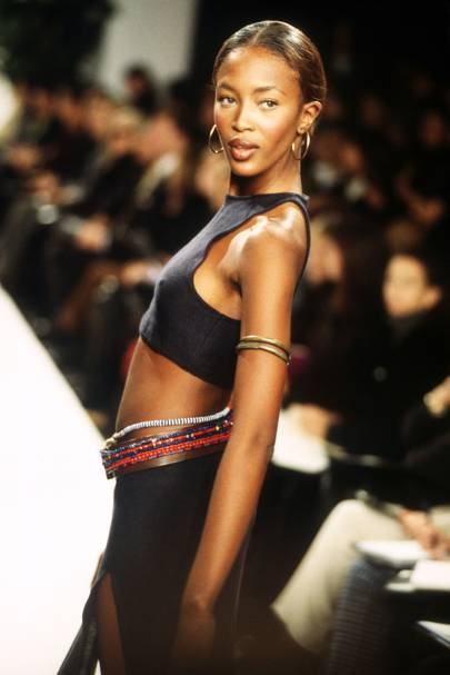 1997 - Naomi Campbell on the runway