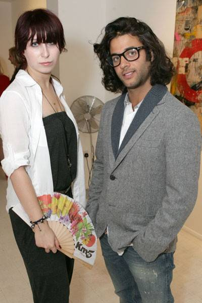 Anna Abramovich and Benjamin Kahlili