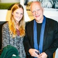 Lily Burnand and David Gilmour