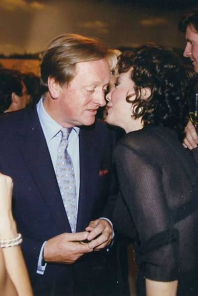 Andrew Parker Bowles and Marie Helvin