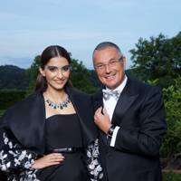 Sonam Kapoor and Jean-Christophe Babin