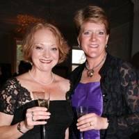 Stella Duffy and Clare Balding