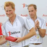 Prince Harry and Duke of Cambridge