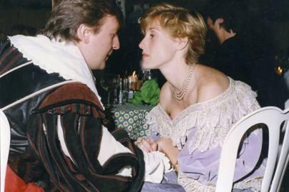 Rupert Stevenson and Melissa Dewitt