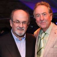 Sir Salman Rushdie and Eric Idle