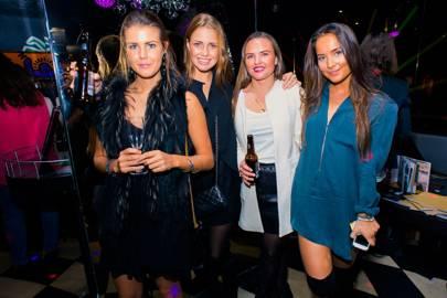 Caroline Holst, Ine Edvardsen, Caroline E B Olsen and Camilla Kjolberg
