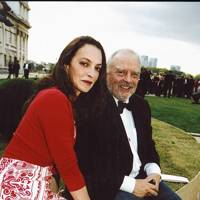 Mrs David Bailey and David Bailey
