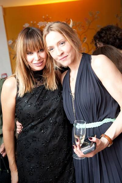 Catalina Guirado and Freya St Johnston