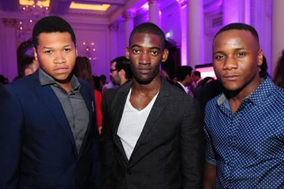 Franz Drameh, Malachi Kirby and Toby Bakare