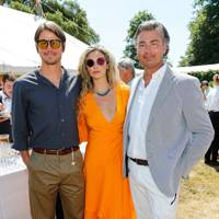 Josh Hartnett, Tamsin Eggerton and Laurent Feniou