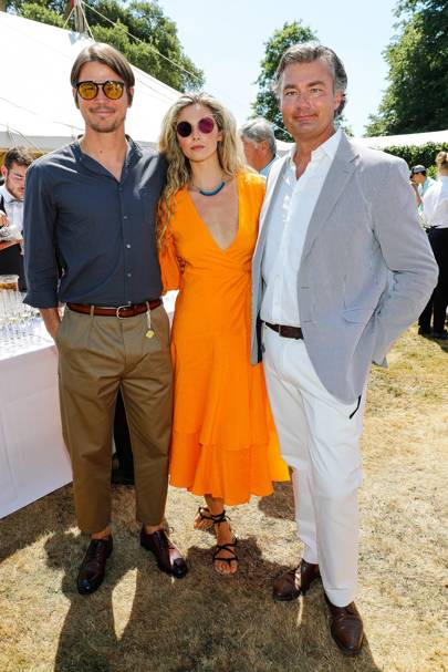 Josh Hartnett, Tamsin Egerton and Laurent Feniou