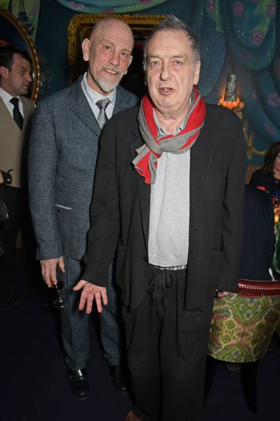 John Malkovich and Stephen Frears