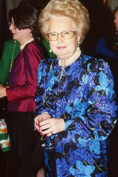 Princess Marie-Chirstine of Bourbon-Parma