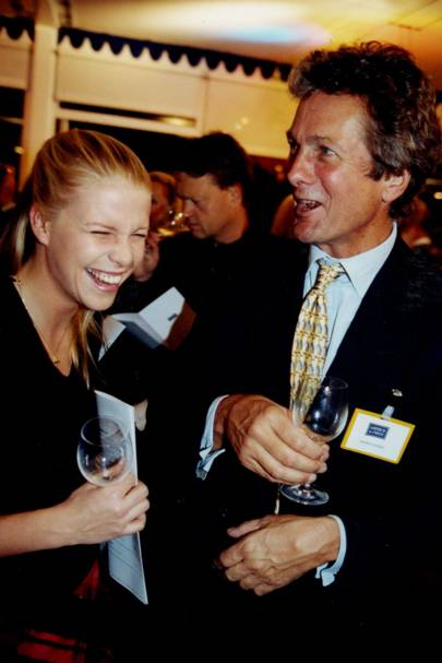 Sophia Burrell and Johnny Goedhuis