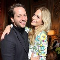 Derek Blasberg and Poppy Delevingne