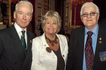 Commodore Peter Tribe, Judith Chalmers and William Morrison