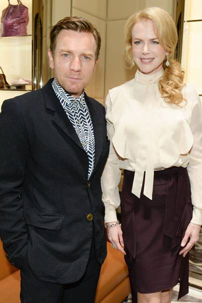 Ewan McGregor and Nicole Kidman