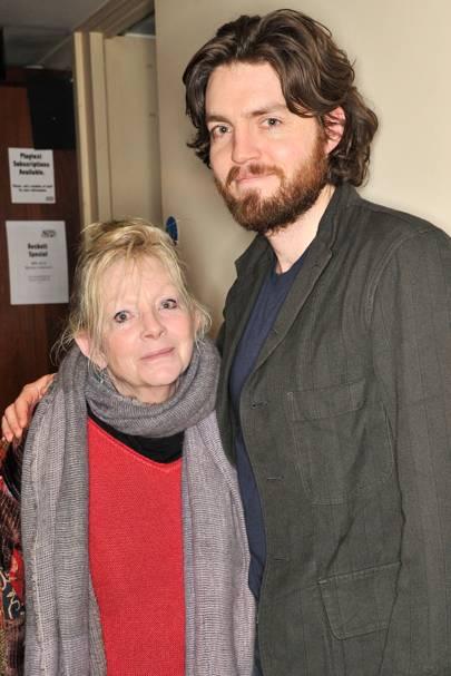 Tim Burke and Annie Calder-Marshall