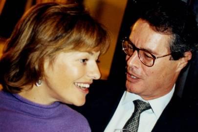 Mrs Peter Soros and Jonathan Lloyd