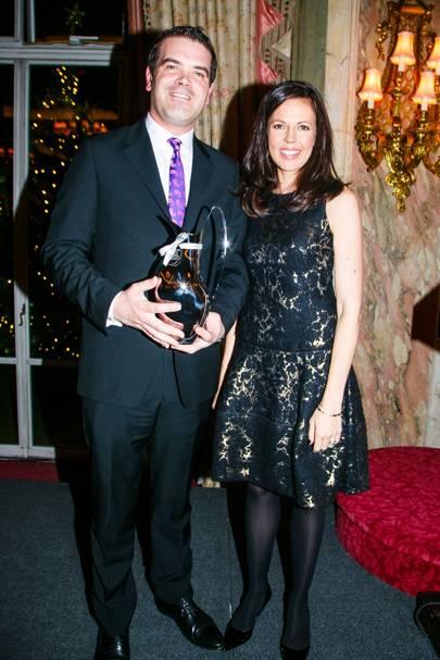 David Taylor and Francisca Kellett