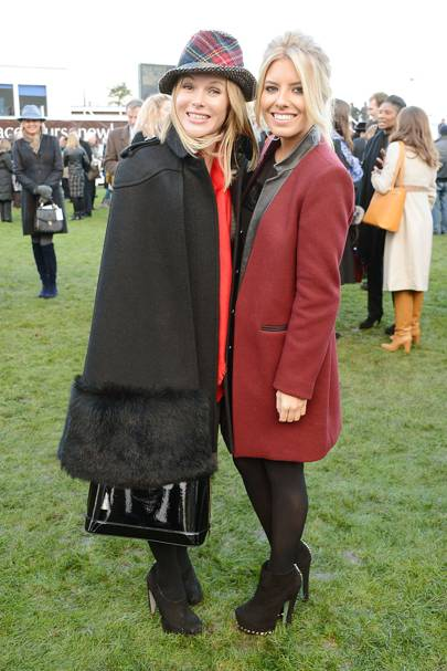 Amanda Holden and Mollie King