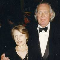 Mrs Joss Ackland and Joss Ackland