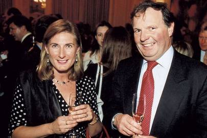Mrs Jonathan Hughes-D'aeth and Jonathan Hughes D'aeth