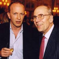 Simon Sebag-Monetfiore and Baron Tebbit