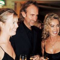 Kate Rutherford and Mr and Mrs Mike Rutherford