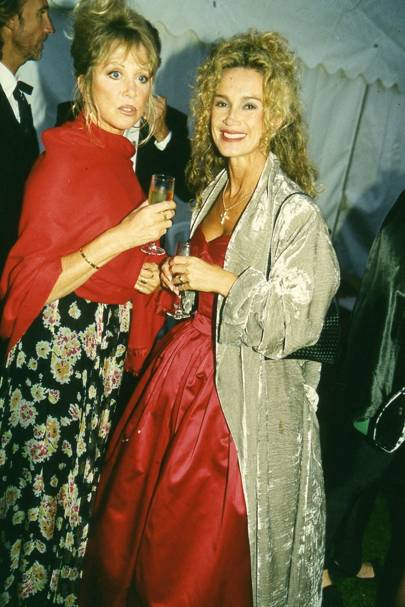 Patti Clapton and Angie Rutherford