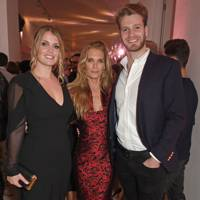 Lady Kitty Spencer, Victoria Aitken and Viscount Althorp