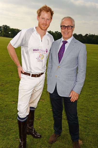 Prince Harry and Jon Zammett