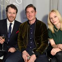 Nick Moran, Max Brown and Annabelle Brown