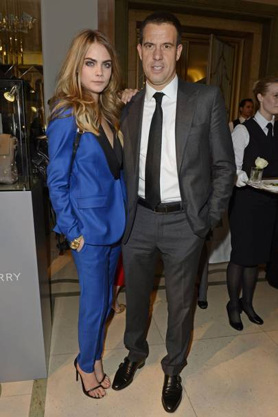 Cara Delevingne and Bruno Guillon