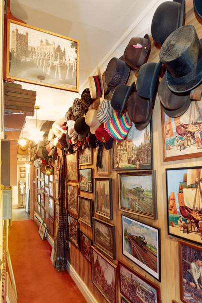 The 'Hall of Hats'.