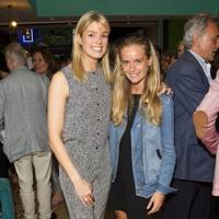 Isabella Anstruther-Gough-Calthorpe and Cressida Bonas
